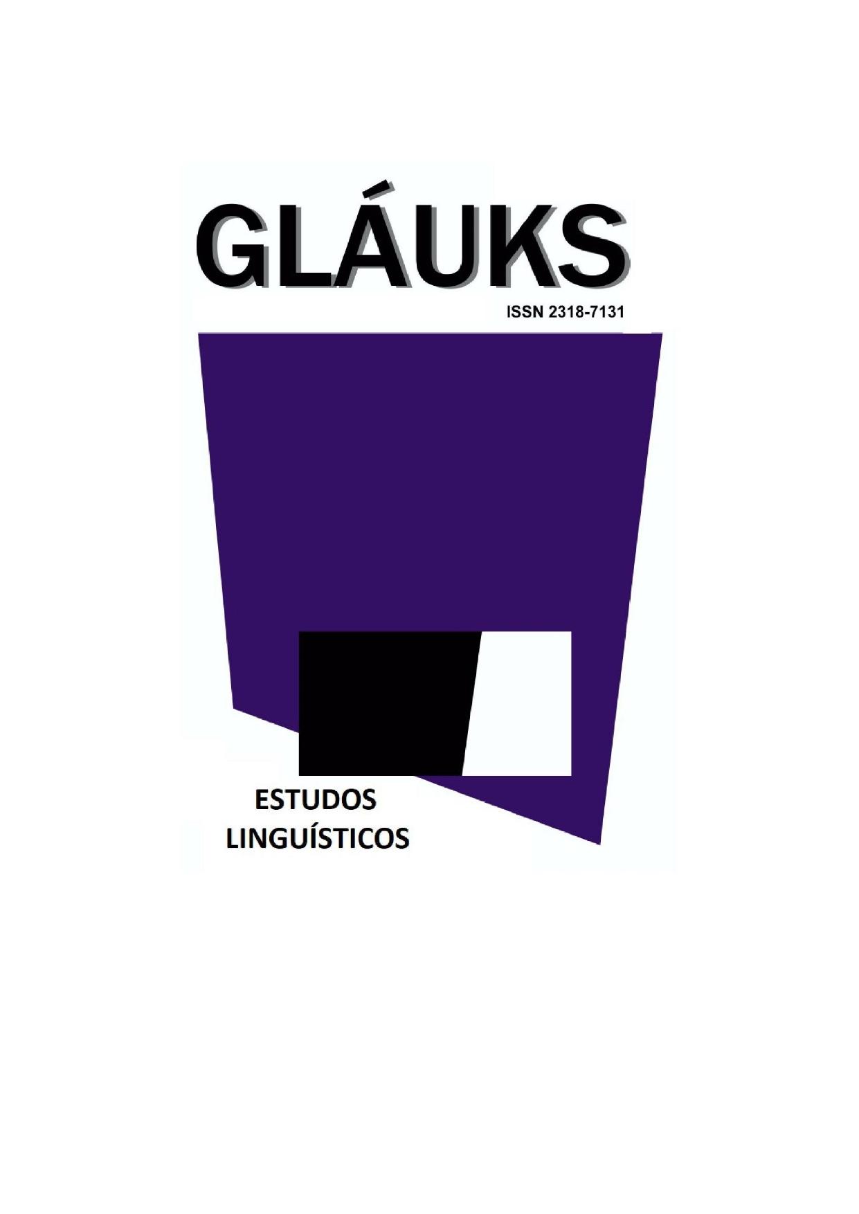 Visualizar v. 21 n. 01 (2021): Estudos Linguísticos